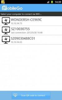 Wondershare MobileGo Screenshot