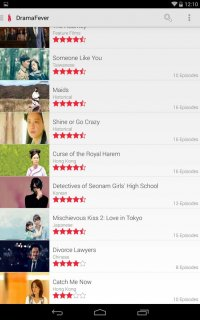 DramaFever Screenshot