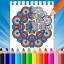 Mandala Coloring Book - Free Adult Coloring Book
