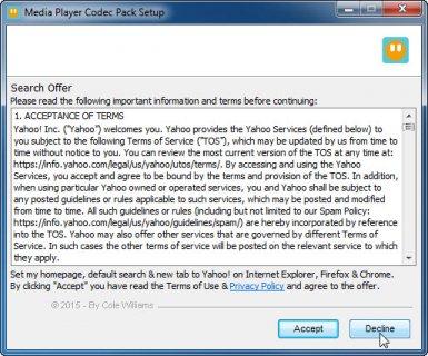 Media Player Codec Pack Screenshot