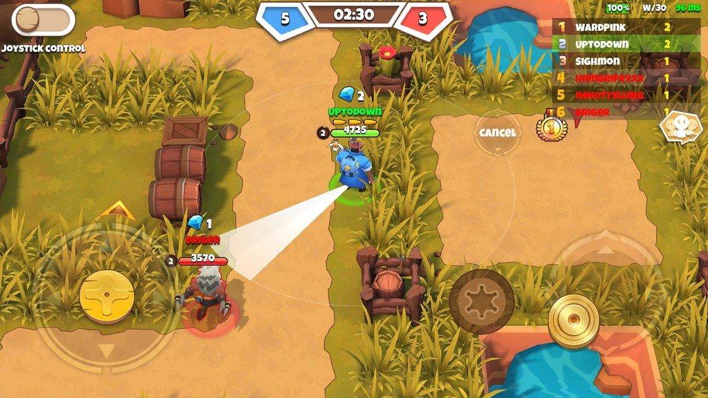 West Legends: 3V3 MOBA for Android Free Download