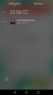 Sound Booster Plus Screenshot