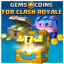 Gems & Coins for Clash Royale 2018