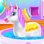 Cute Unicorn Caring and Dressup