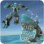 Robot Shark Background