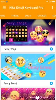 Kika Emoji Keyboard Pro Screenshot