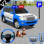 Police Spooky Jeep Stunt Parking 3D 2